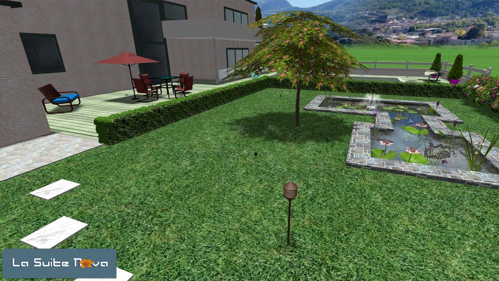les projets r alis s avec la suite nova logiciel 3d paysage. Black Bedroom Furniture Sets. Home Design Ideas